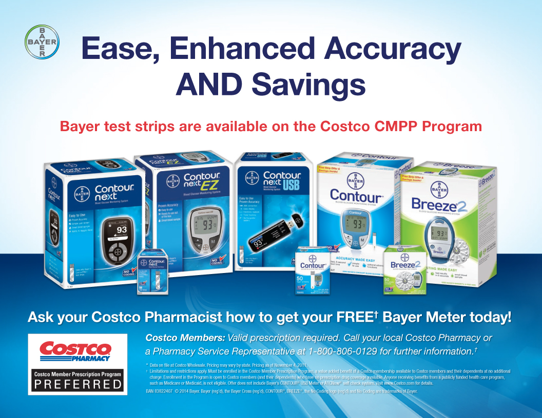 Bayer Ease, Enhanced Accuracy AND Savings on the Costco CMPP Program