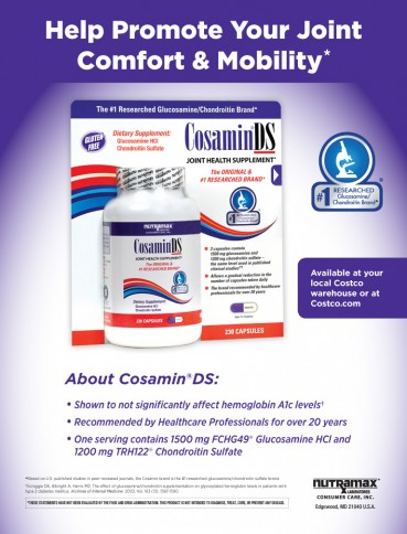 Cosamin ® ASU, 230 Capsules For Joint Health