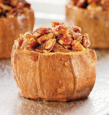 Warm  Winter Sides: Sweet Potato Crowns