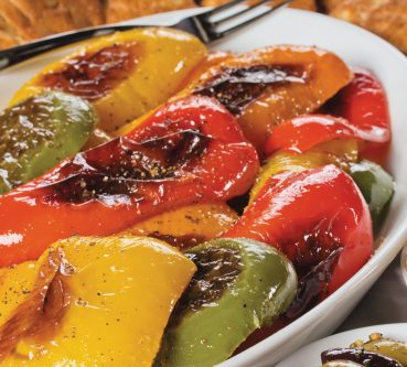 Warm Winter Sides: Rainbow Roasted Peppers