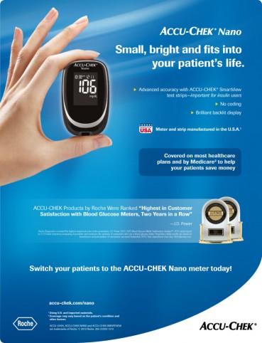 ACCU-CHEK® Nano Diabetes Monitoring Kit