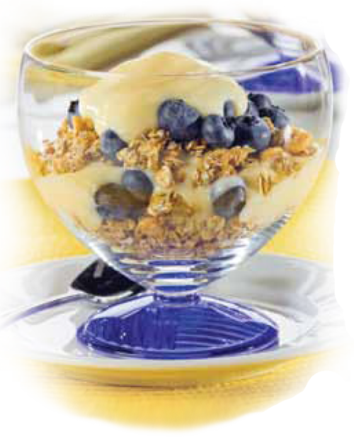 Healthy Guilt-Free Recipes: Blueberry Banana Yogurt Parfaits