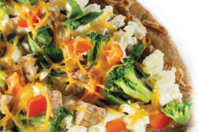Healthy Guilt-Free Recipes: Daybreak Scramble Pizza