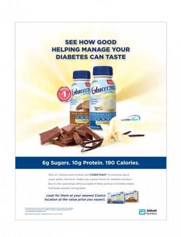 Glucerna® Nutritional Vanilla Shake
