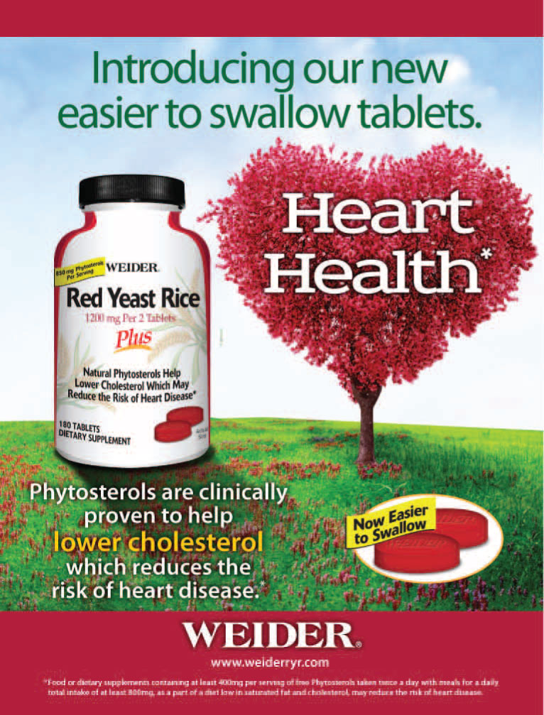 Weider Red Yeast Rice