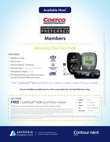 Free Bayer Contour®Next Meter Coupon