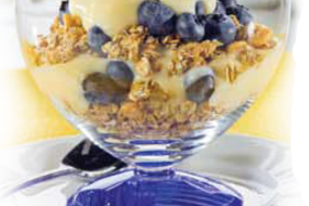 Healthy Guilt-Free Recipes: Blueberry Banana YogurtParfaits
