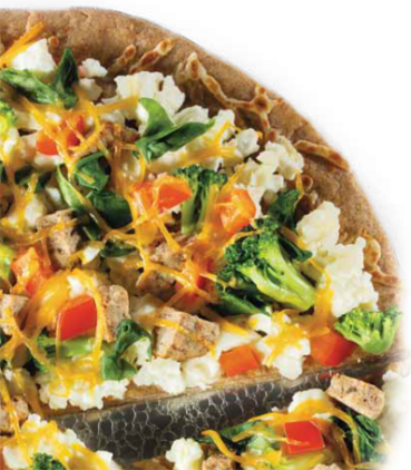 Healthy Guilt-Free Recipes: Daybreak Scramble Pizza