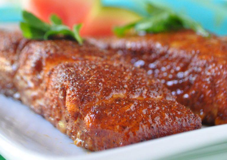 Roasted Seasoned Salmon