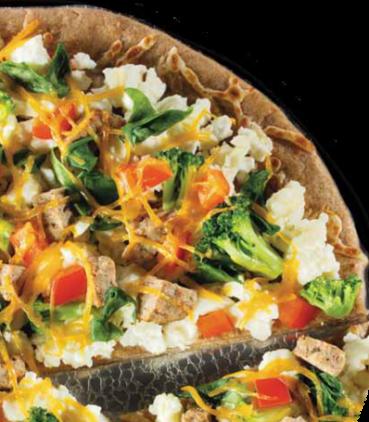 Daybreak Scramble Pizza