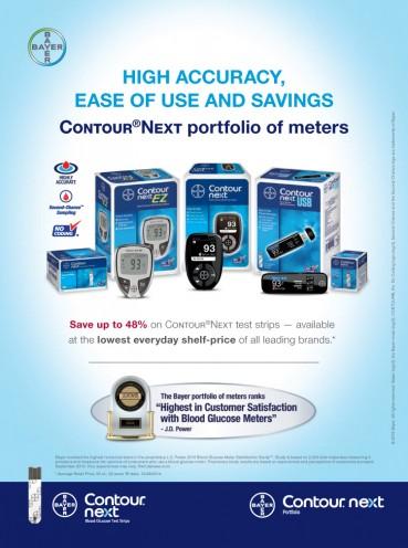 Bayer CONTOUR® NEXT Blood Glucose Monitoring System