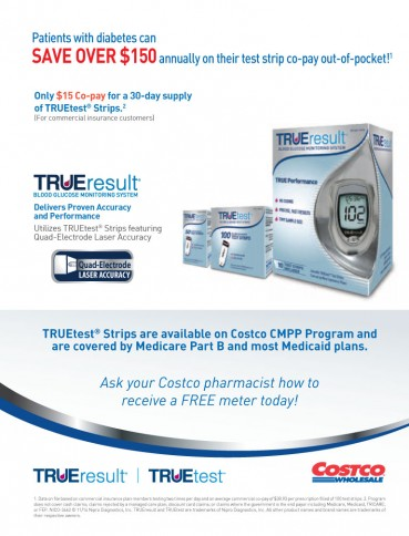 TRUEresult® Blood Glucose Monitoring System