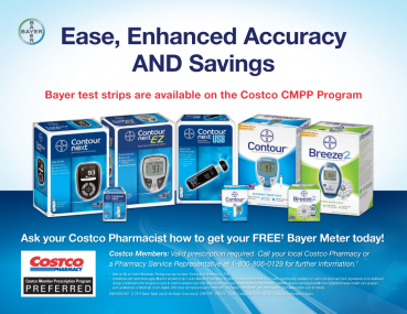 Bayer Test Strips @ Costco