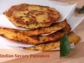 Indian Savory Pancakes