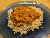curried coconut chicken