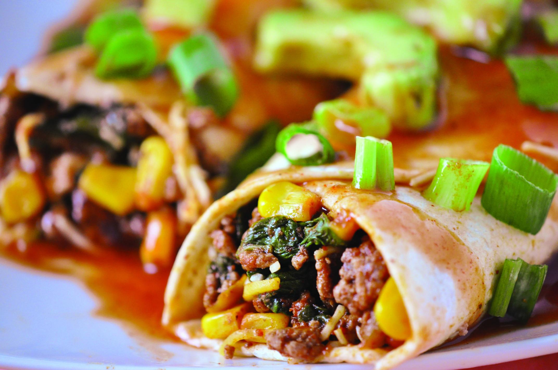 Easy Beef Enchiladas - CDIABETES.COM