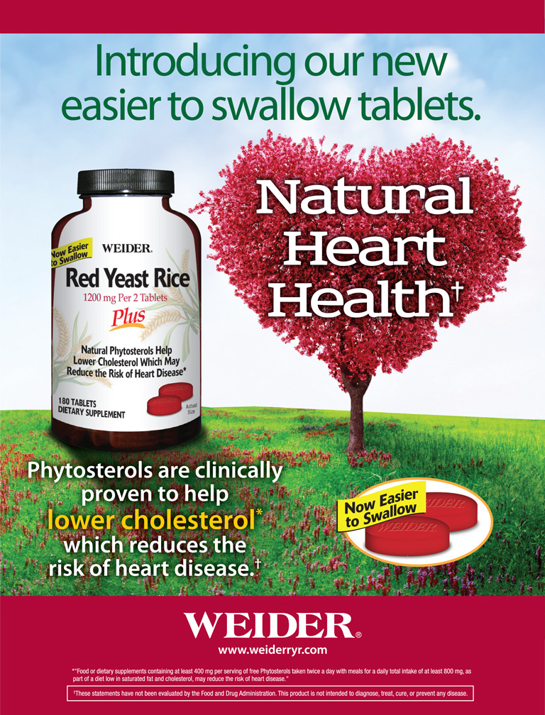 Image of a FREE bottle of Weider® Red Yeast Rice Plus, 180 Tablets