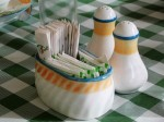Salt, Pepper Shaker and sugar container