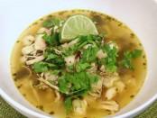 Hot Chicken Cilantro Soup