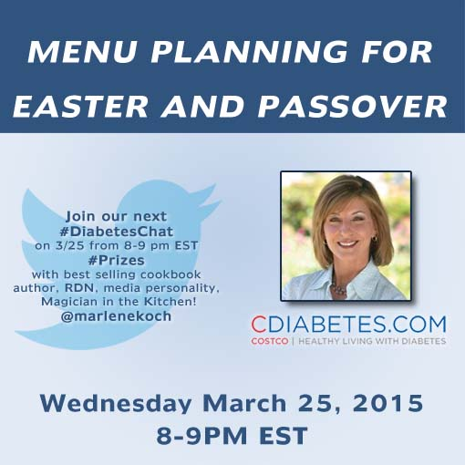 Twitter Party March 25, 2015 with Marlene Koch