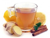 Ginger Lemon Tea with Cinnamon