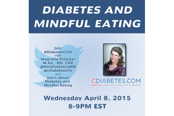 #diabeteschat Twitter Party on April 8, 2015