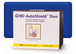 BD Autoshield Duo Free Offer