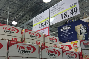 Photo of Premier Protein boxes