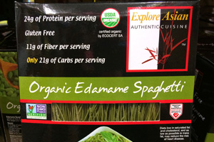 Photo of ExploreAsian Organic Edamame Spaghetti