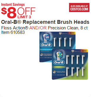Oral-B® Replacement Brush Heads