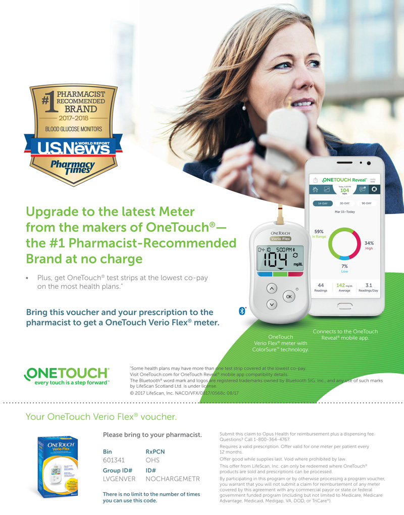 Free OneTouch Ultra Meter Coupon